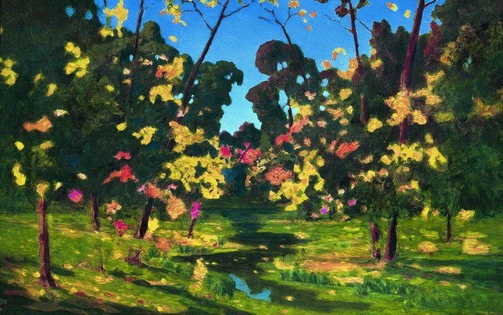 """列宾称他为""""善于表现诗意光辉的艺术大师"""",库因芝作品164幅插图27"""