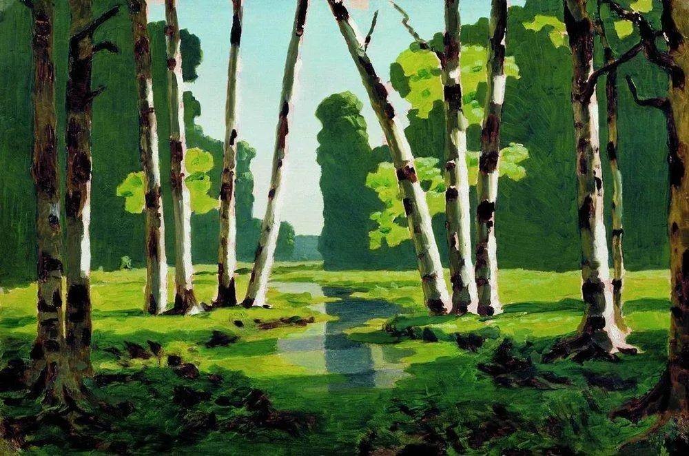 """列宾称他为""""善于表现诗意光辉的艺术大师"""",库因芝作品164幅插图29"""