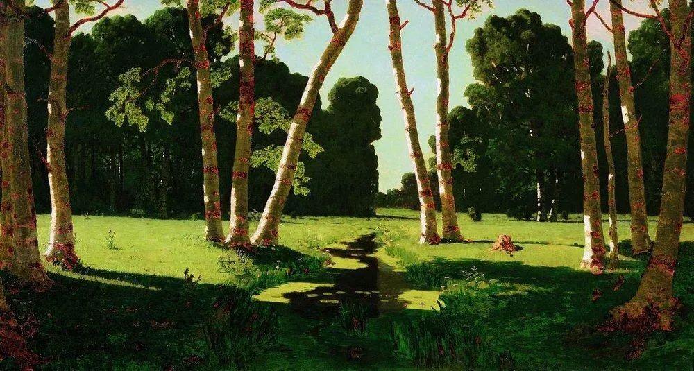 """列宾称他为""""善于表现诗意光辉的艺术大师"""",库因芝作品164幅插图31"""