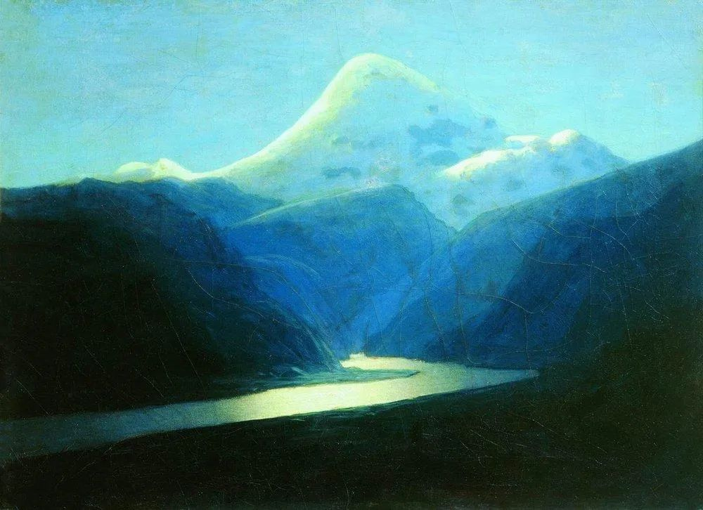 """列宾称他为""""善于表现诗意光辉的艺术大师"""",库因芝作品164幅插图35"""