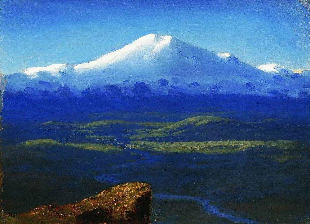 """列宾称他为""""善于表现诗意光辉的艺术大师"""",库因芝作品164幅插图37"""