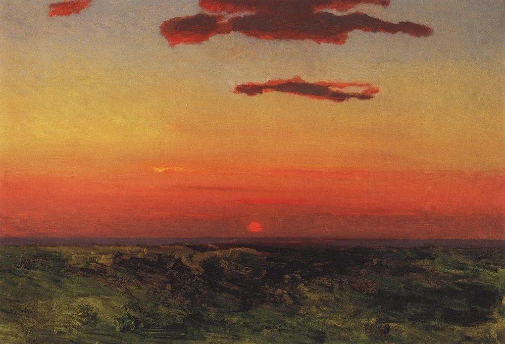 """列宾称他为""""善于表现诗意光辉的艺术大师"""",库因芝作品164幅插图41"""