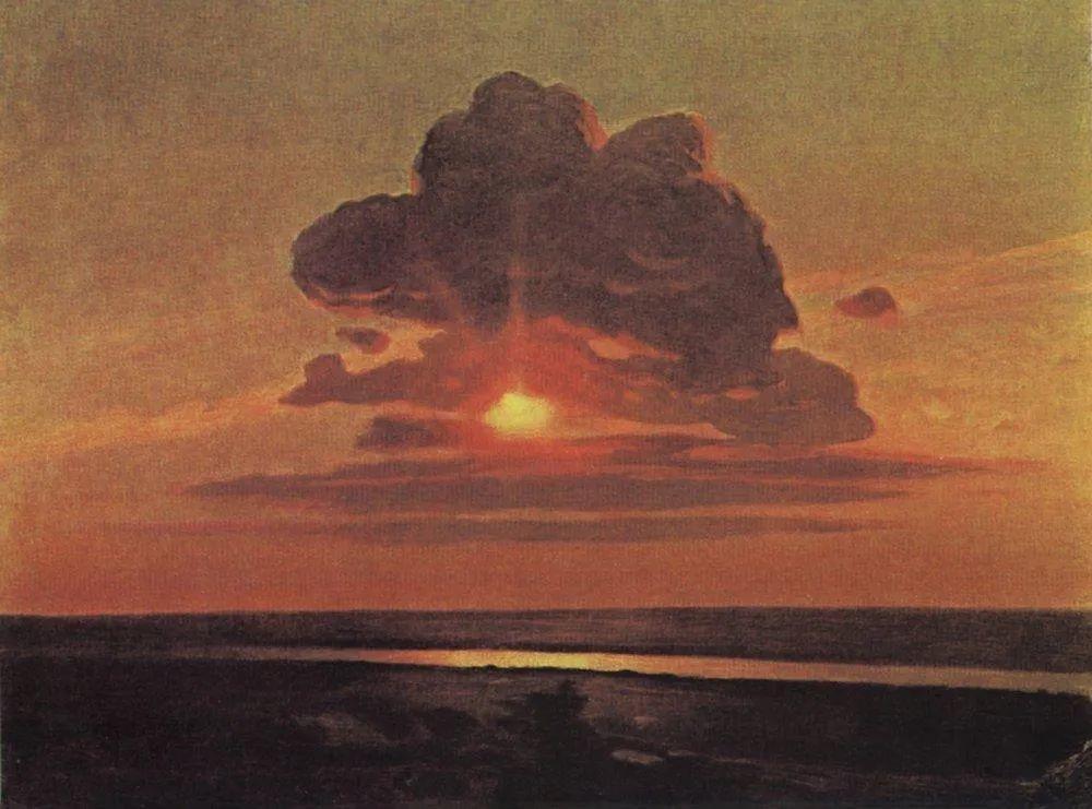 """列宾称他为""""善于表现诗意光辉的艺术大师"""",库因芝作品164幅插图43"""