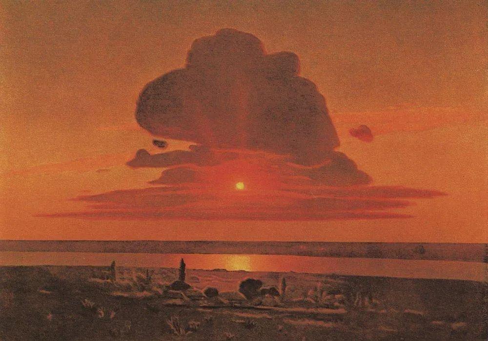 """列宾称他为""""善于表现诗意光辉的艺术大师"""",库因芝作品164幅插图45"""