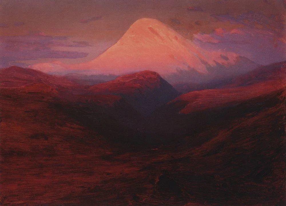 """列宾称他为""""善于表现诗意光辉的艺术大师"""",库因芝作品164幅插图49"""