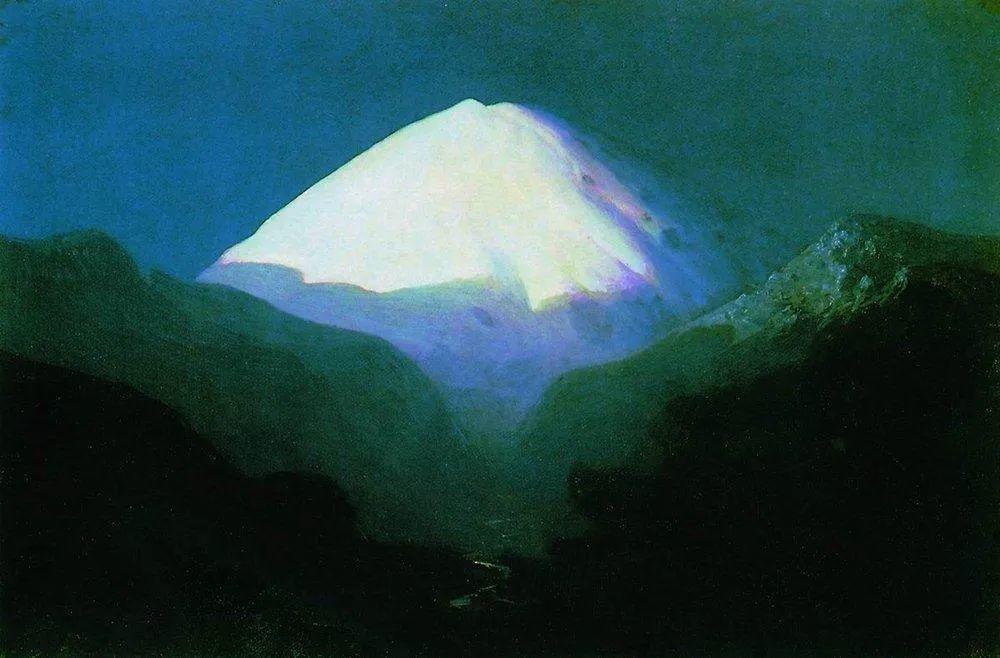"""列宾称他为""""善于表现诗意光辉的艺术大师"""",库因芝作品164幅插图51"""