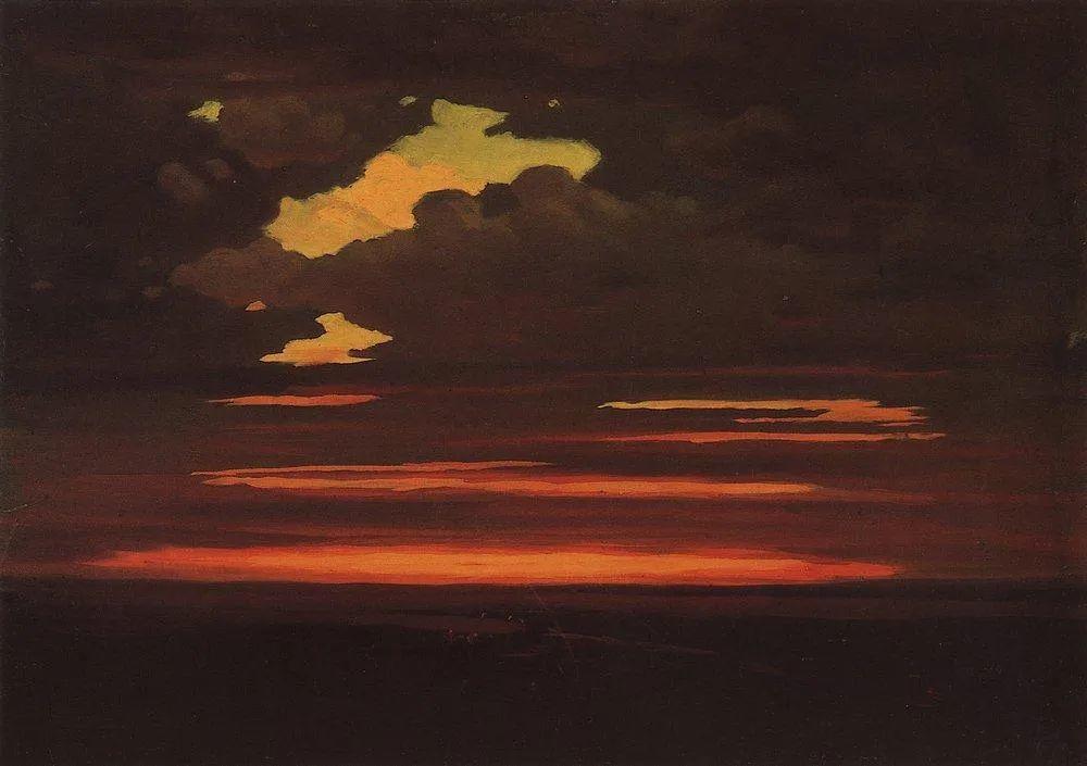 """列宾称他为""""善于表现诗意光辉的艺术大师"""",库因芝作品164幅插图53"""