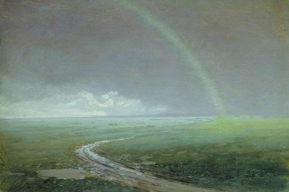 """列宾称他为""""善于表现诗意光辉的艺术大师"""",库因芝作品164幅插图55"""