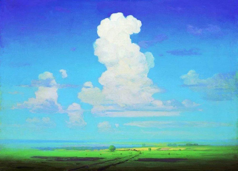 """列宾称他为""""善于表现诗意光辉的艺术大师"""",库因芝作品164幅插图59"""