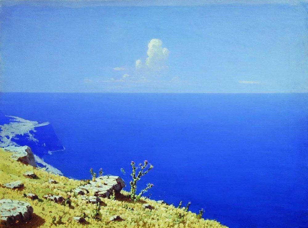 """列宾称他为""""善于表现诗意光辉的艺术大师"""",库因芝作品164幅插图61"""