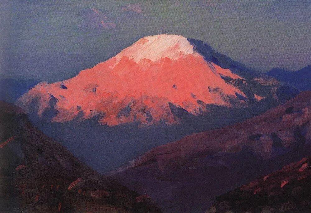 """列宾称他为""""善于表现诗意光辉的艺术大师"""",库因芝作品164幅插图69"""