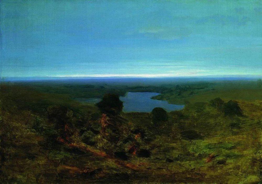 """列宾称他为""""善于表现诗意光辉的艺术大师"""",库因芝作品164幅插图71"""