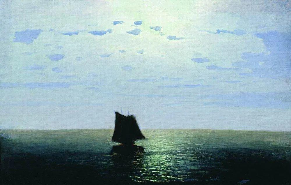 """列宾称他为""""善于表现诗意光辉的艺术大师"""",库因芝作品164幅插图73"""