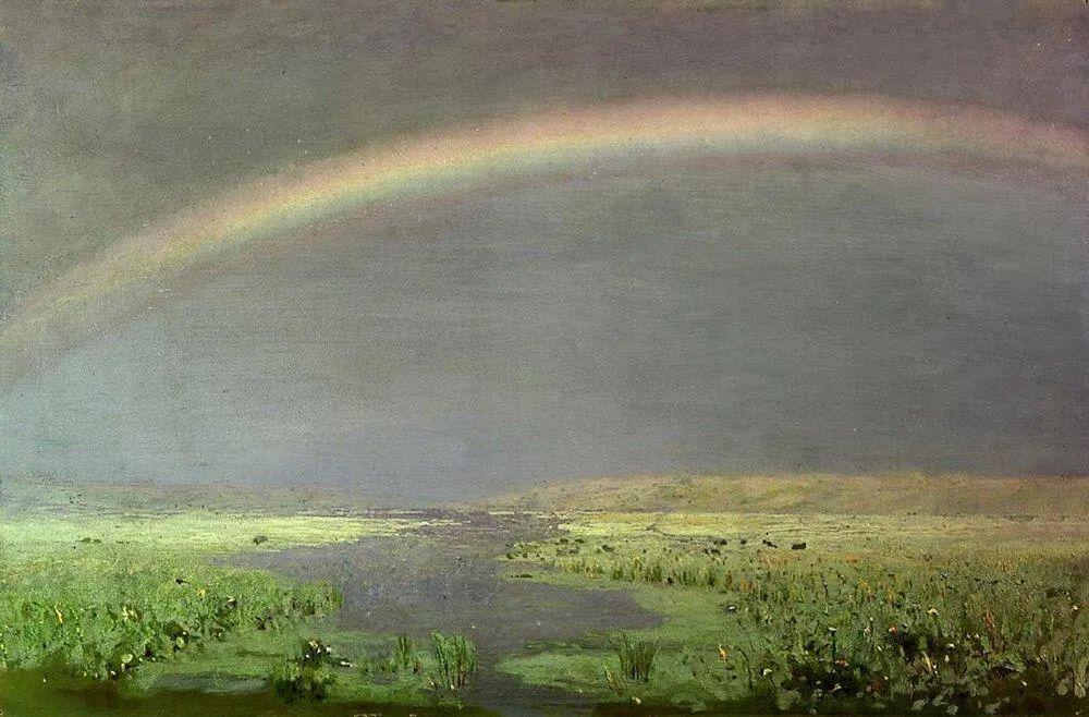 """列宾称他为""""善于表现诗意光辉的艺术大师"""",库因芝作品164幅插图75"""