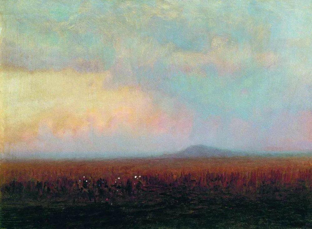 """列宾称他为""""善于表现诗意光辉的艺术大师"""",库因芝作品164幅插图77"""