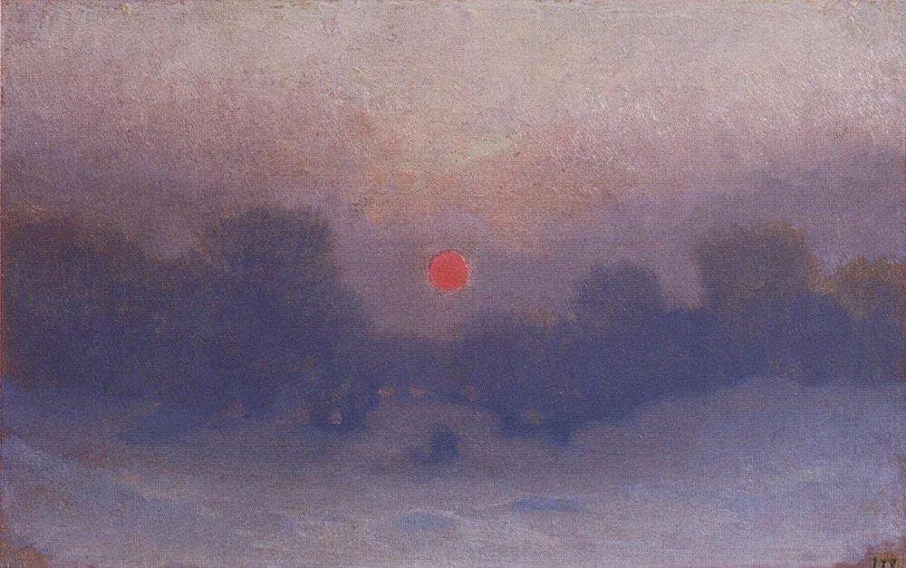 """列宾称他为""""善于表现诗意光辉的艺术大师"""",库因芝作品164幅插图83"""