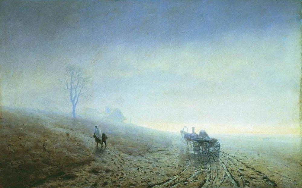 """列宾称他为""""善于表现诗意光辉的艺术大师"""",库因芝作品164幅插图87"""