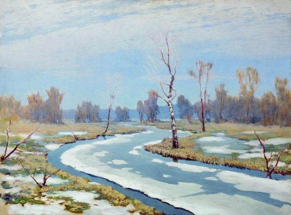 """列宾称他为""""善于表现诗意光辉的艺术大师"""",库因芝作品164幅插图93"""