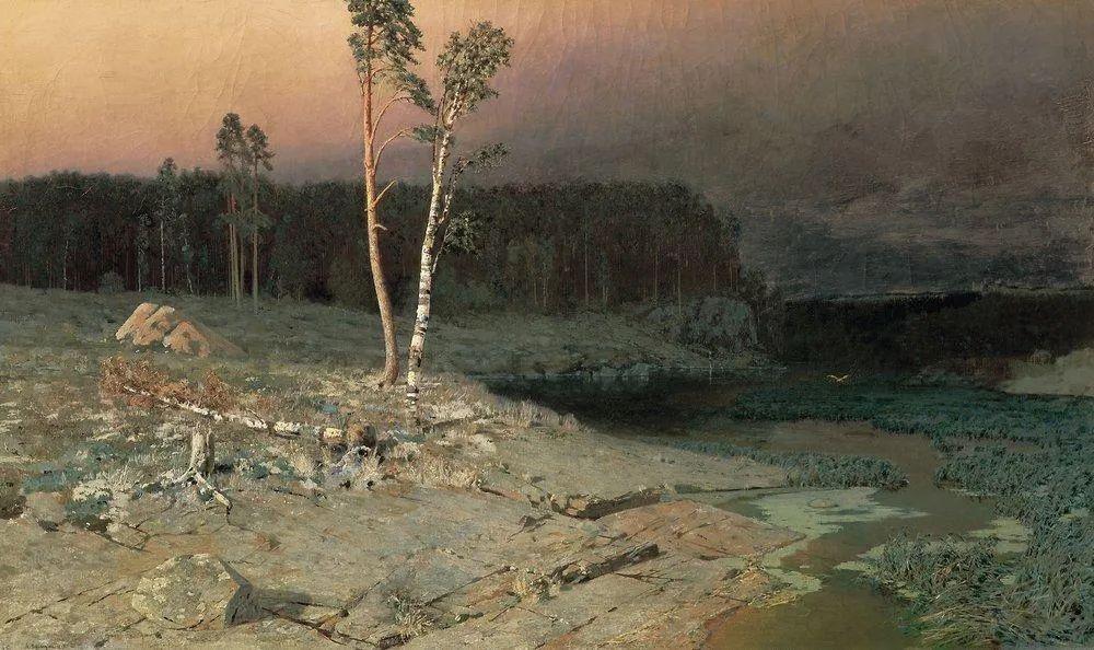 """列宾称他为""""善于表现诗意光辉的艺术大师"""",库因芝作品164幅插图101"""