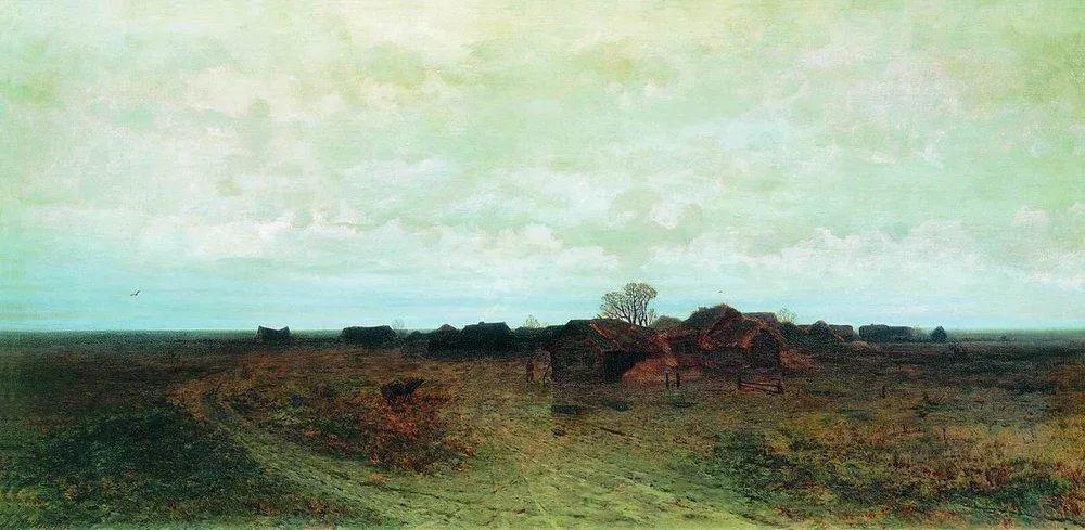 """列宾称他为""""善于表现诗意光辉的艺术大师"""",库因芝作品164幅插图103"""