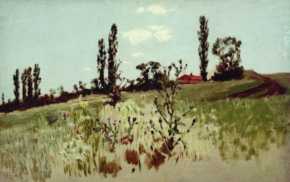"""列宾称他为""""善于表现诗意光辉的艺术大师"""",库因芝作品164幅插图109"""