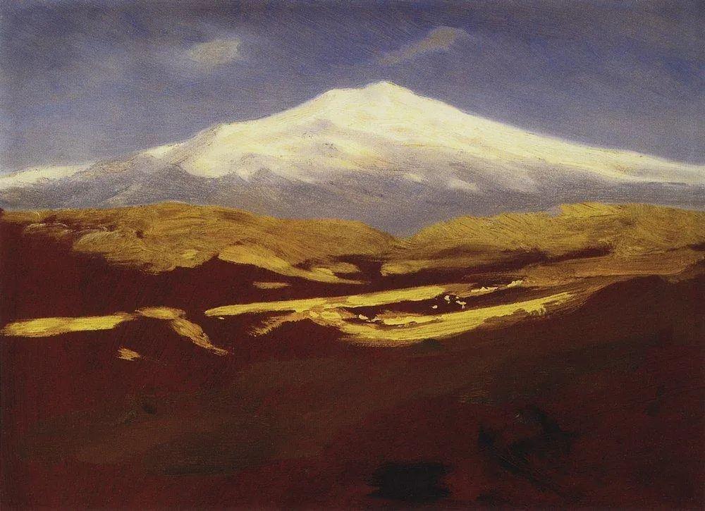 """列宾称他为""""善于表现诗意光辉的艺术大师"""",库因芝作品164幅插图113"""