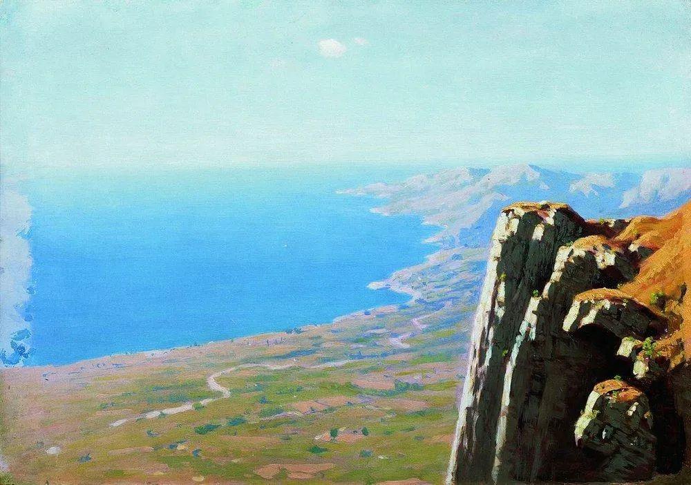 """列宾称他为""""善于表现诗意光辉的艺术大师"""",库因芝作品164幅插图117"""