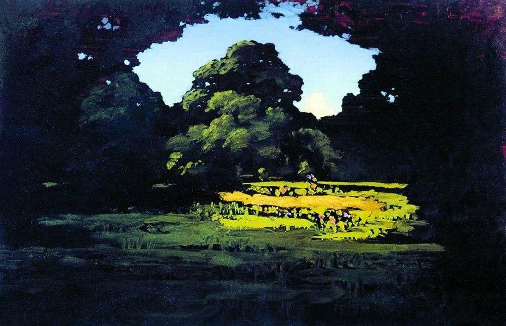 """列宾称他为""""善于表现诗意光辉的艺术大师"""",库因芝作品164幅插图119"""