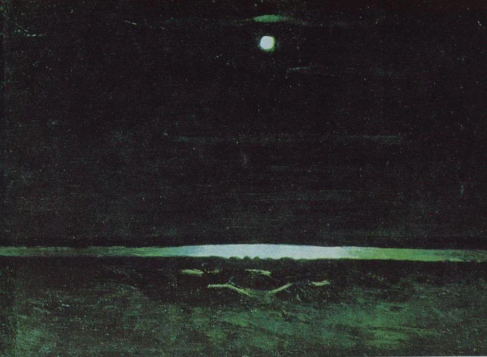 """列宾称他为""""善于表现诗意光辉的艺术大师"""",库因芝作品164幅插图123"""