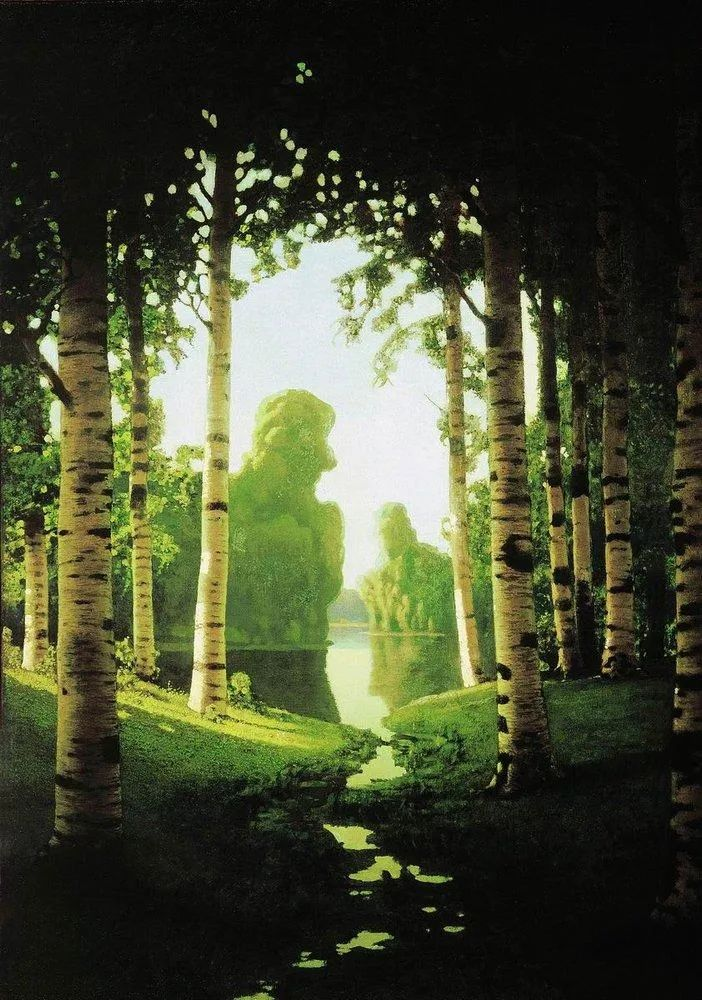 """列宾称他为""""善于表现诗意光辉的艺术大师"""",库因芝作品164幅插图125"""