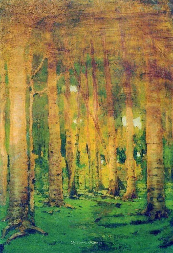 """列宾称他为""""善于表现诗意光辉的艺术大师"""",库因芝作品164幅插图127"""