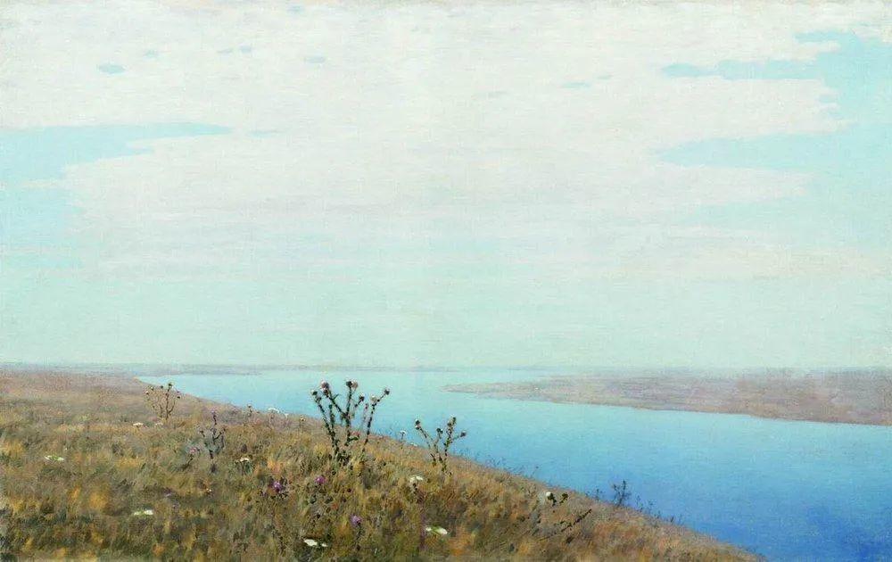 """列宾称他为""""善于表现诗意光辉的艺术大师"""",库因芝作品164幅插图131"""