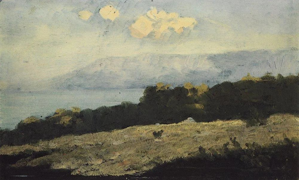 """列宾称他为""""善于表现诗意光辉的艺术大师"""",库因芝作品164幅插图135"""