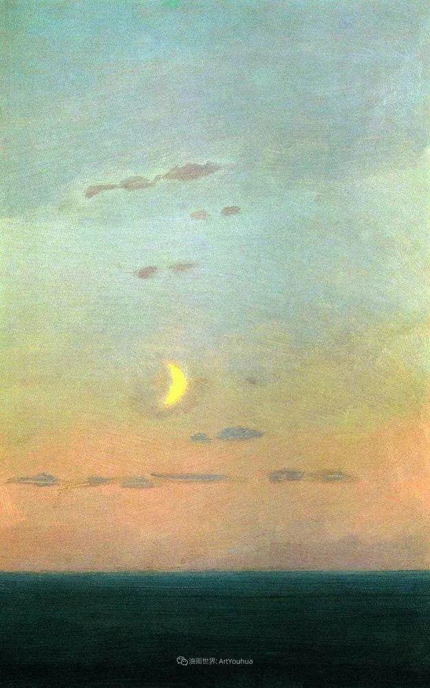 """列宾称他为""""善于表现诗意光辉的艺术大师"""",库因芝作品164幅插图147"""