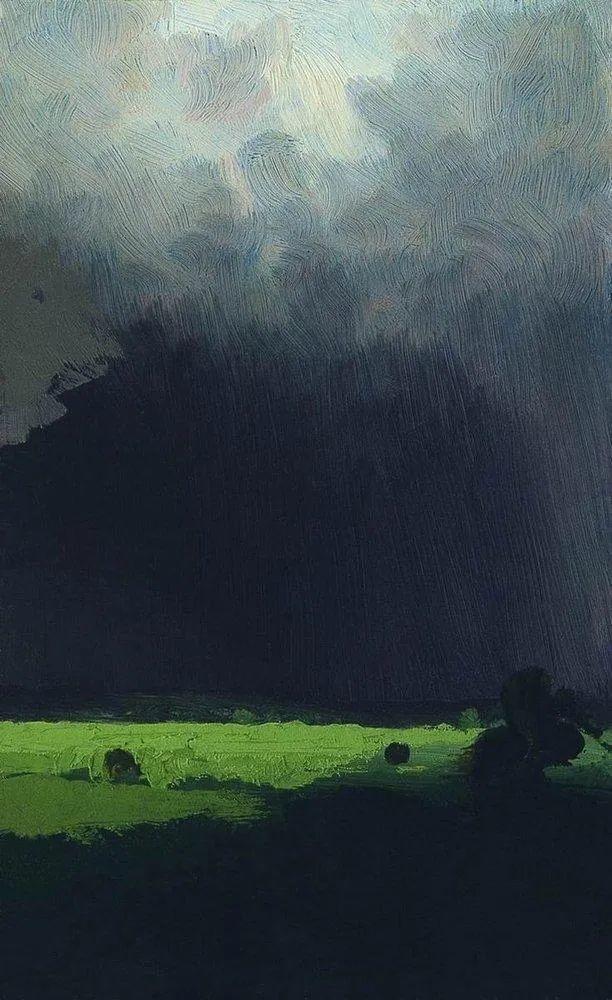 """列宾称他为""""善于表现诗意光辉的艺术大师"""",库因芝作品164幅插图155"""