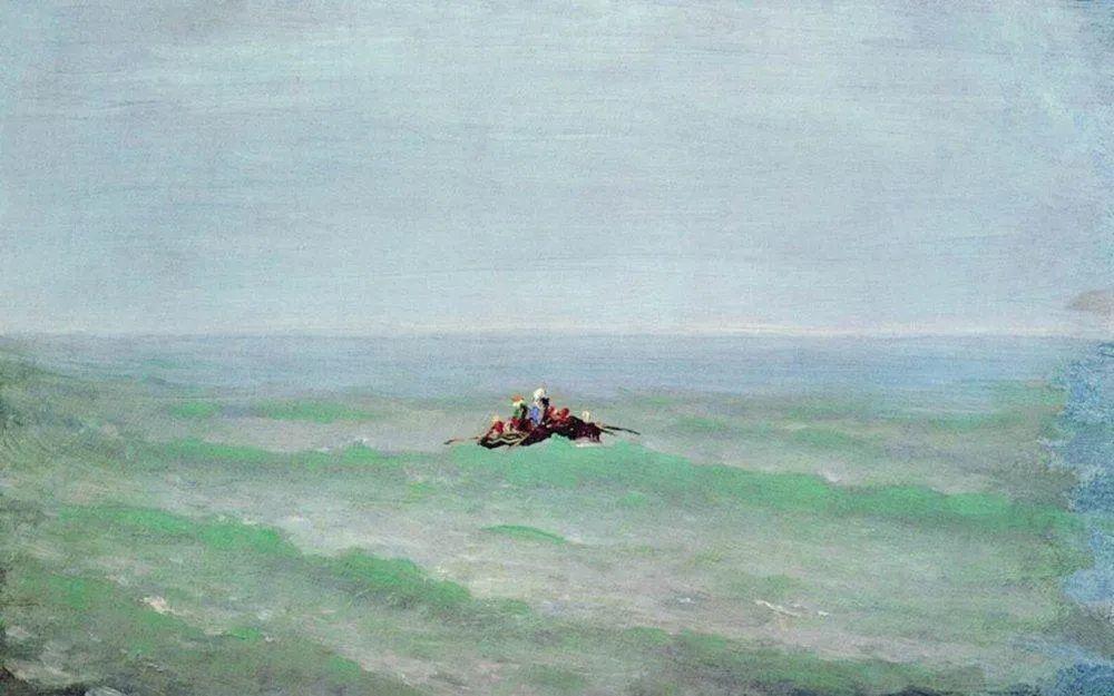 """列宾称他为""""善于表现诗意光辉的艺术大师"""",库因芝作品164幅插图157"""
