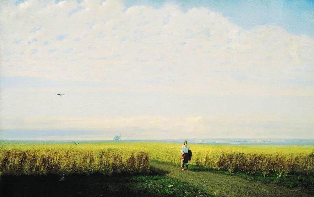"""列宾称他为""""善于表现诗意光辉的艺术大师"""",库因芝作品164幅插图159"""