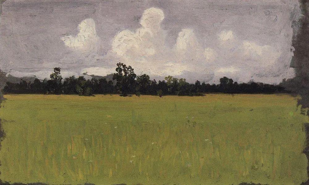 """列宾称他为""""善于表现诗意光辉的艺术大师"""",库因芝作品164幅插图161"""