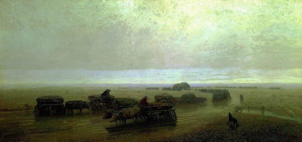"""列宾称他为""""善于表现诗意光辉的艺术大师"""",库因芝作品164幅插图163"""