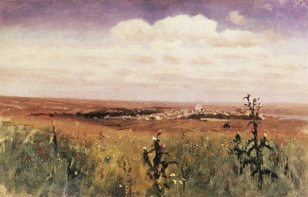 """列宾称他为""""善于表现诗意光辉的艺术大师"""",库因芝作品164幅插图167"""