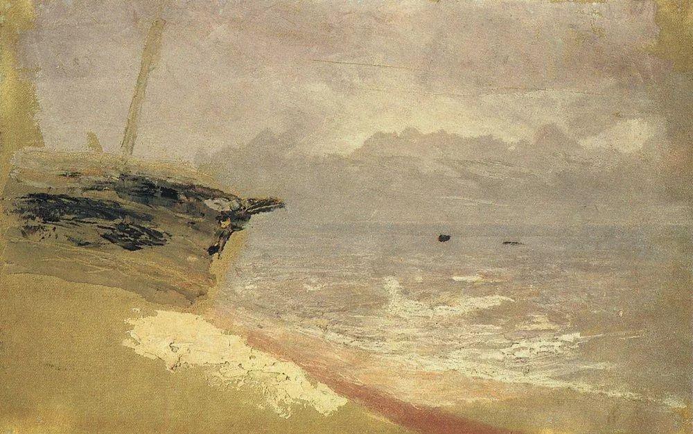 """列宾称他为""""善于表现诗意光辉的艺术大师"""",库因芝作品164幅插图175"""