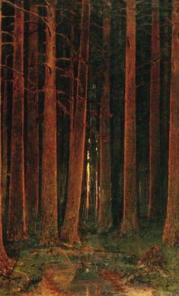 """列宾称他为""""善于表现诗意光辉的艺术大师"""",库因芝作品164幅插图177"""