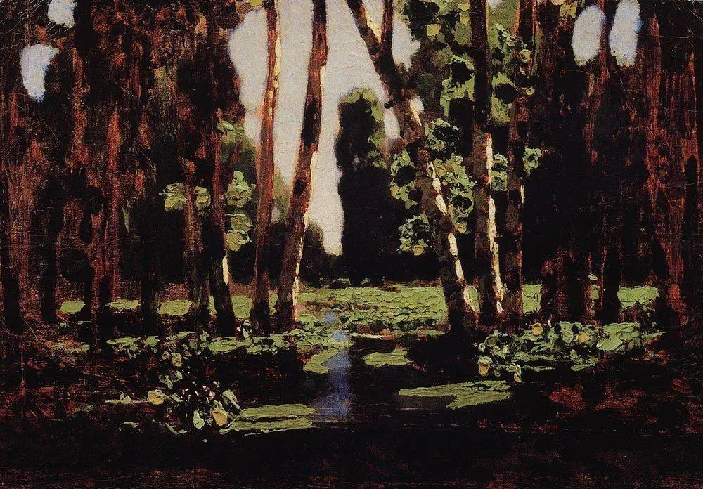 """列宾称他为""""善于表现诗意光辉的艺术大师"""",库因芝作品164幅插图179"""