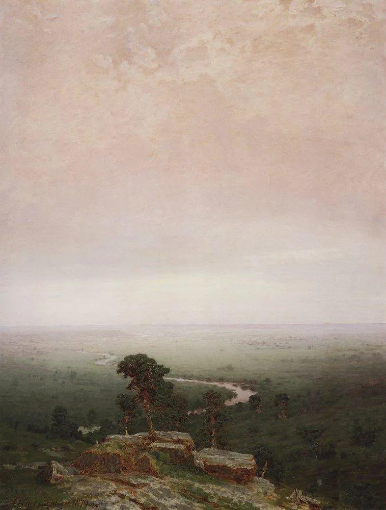 """列宾称他为""""善于表现诗意光辉的艺术大师"""",库因芝作品164幅插图183"""