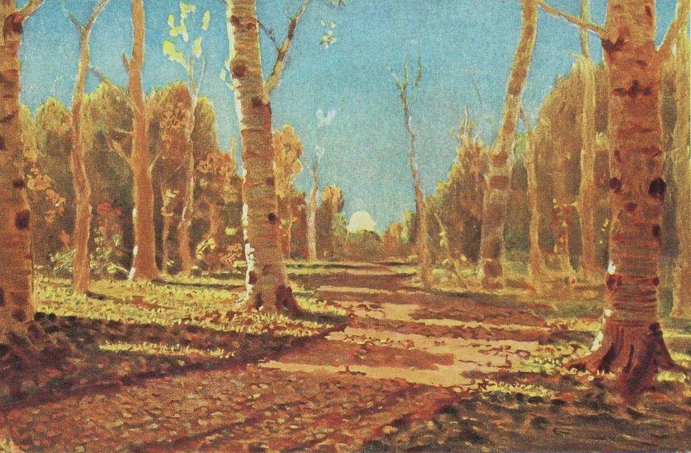 """列宾称他为""""善于表现诗意光辉的艺术大师"""",库因芝作品164幅插图191"""