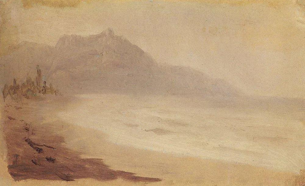 """列宾称他为""""善于表现诗意光辉的艺术大师"""",库因芝作品164幅插图193"""