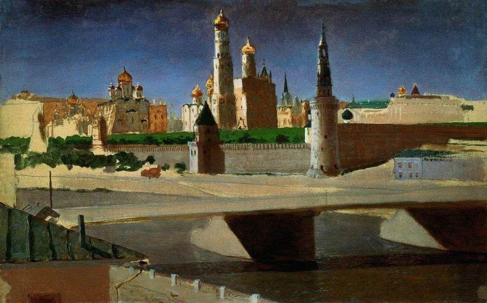 """列宾称他为""""善于表现诗意光辉的艺术大师"""",库因芝作品164幅插图201"""