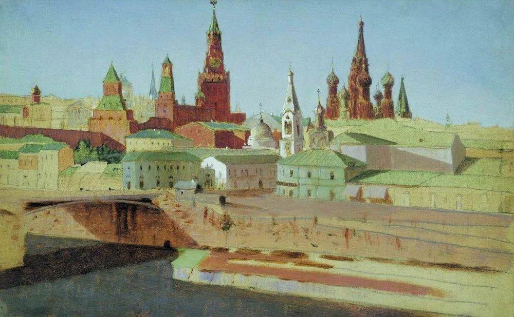 """列宾称他为""""善于表现诗意光辉的艺术大师"""",库因芝作品164幅插图203"""