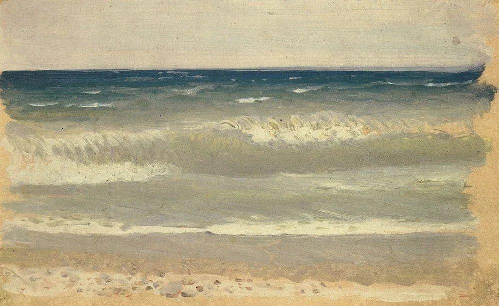 """列宾称他为""""善于表现诗意光辉的艺术大师"""",库因芝作品164幅插图213"""