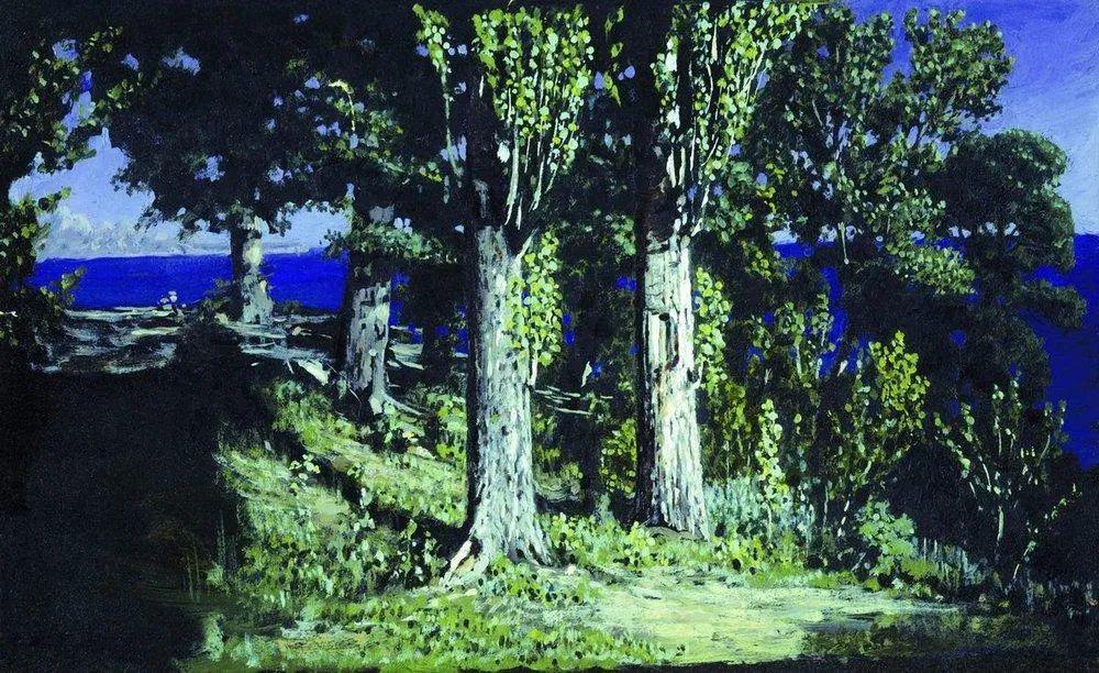 """列宾称他为""""善于表现诗意光辉的艺术大师"""",库因芝作品164幅插图217"""